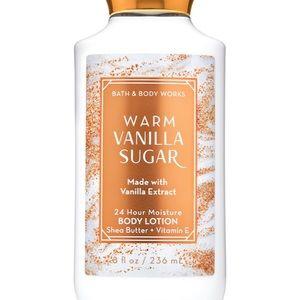 WARM VANILLA SUGAR Body Lotion Bath Body Works NWT